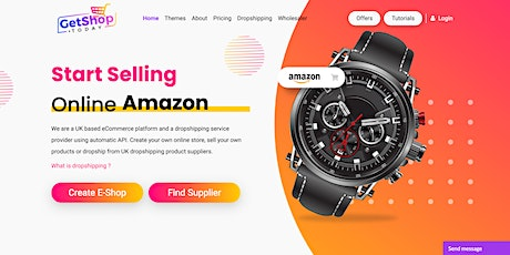Free Course: Dropshipping eCommerce Training Drop Shipping Learning Selling tickets
