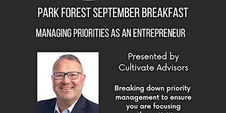 Managing Priorities as an Entrepreneur tickets