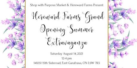 Hereward Farms Grand Opening Extravaganza tickets