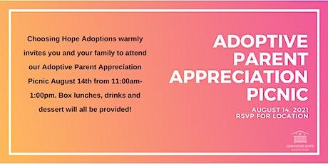 Adoptive Parent Appreciation Picnic tickets