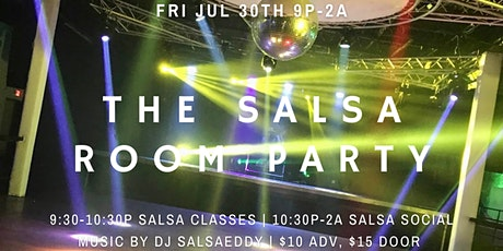 Grand Opening! The Salsa Room Party at iClub 07/30 tickets