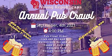 Waukesha YR's Annual Pub Crawl tickets