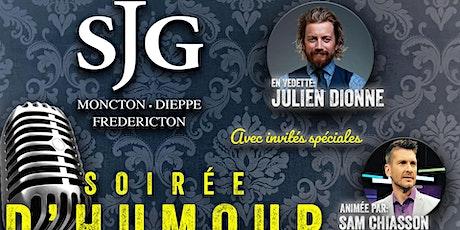 Soirée d'Humour au St. James Gate:  Julien Dionne, animée par Sam Chiasson! tickets