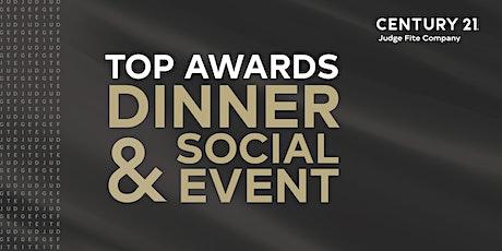 Top Awards Dinner & Social Event tickets