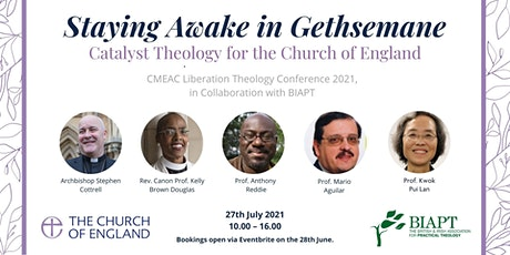 Staying Awake in Gethsemane; Catalyst Theology for the Church of England. tickets