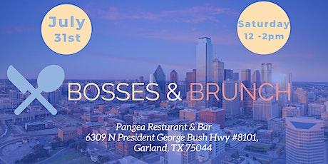 Bosses & Brunch tickets