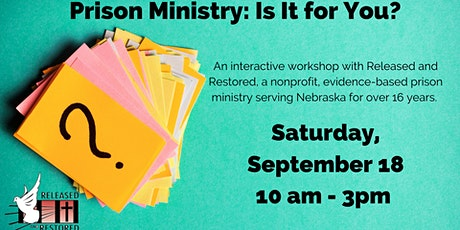 """""""Prison Ministry: Is It for You?"""" Workshop tickets"""