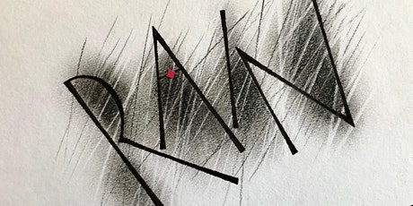 Drawn and Shaded Letters using Charcoal with Rachel Yallop tickets