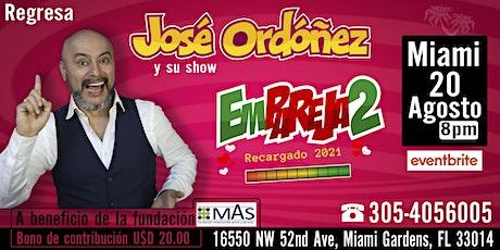Emparejados con José Ordóñez tickets