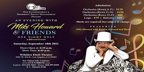 An Evening with Miki Howard & Friends tickets