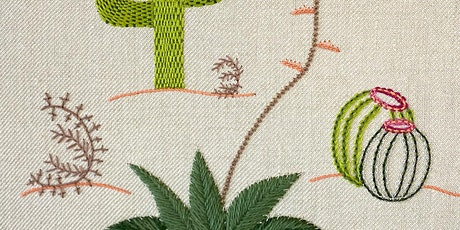 Introduction to Embroidery: Contemporary Plant tickets