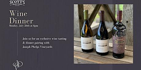 Joseph Phelps Vineyards Wine Dinner tickets