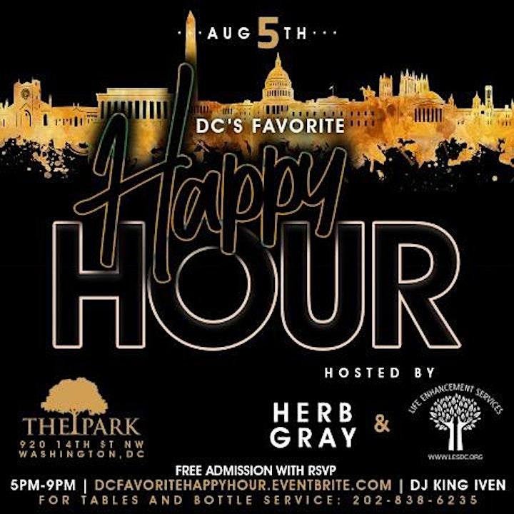 DC Favorite Happy Hour image