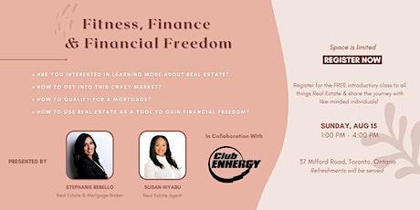 Fitness, Finance & Financial Freedom tickets