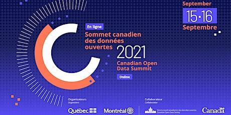 Le Sommet canadien des données ouvertes 2021 billets