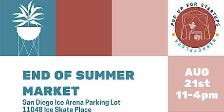 End of Summer Market tickets