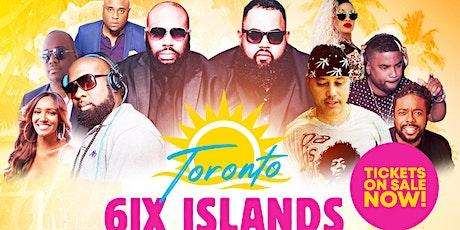 6IX ISLAND FOOD INCLUSIVE FETE tickets