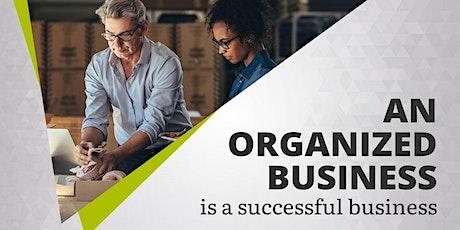 Organize Your Organization tickets