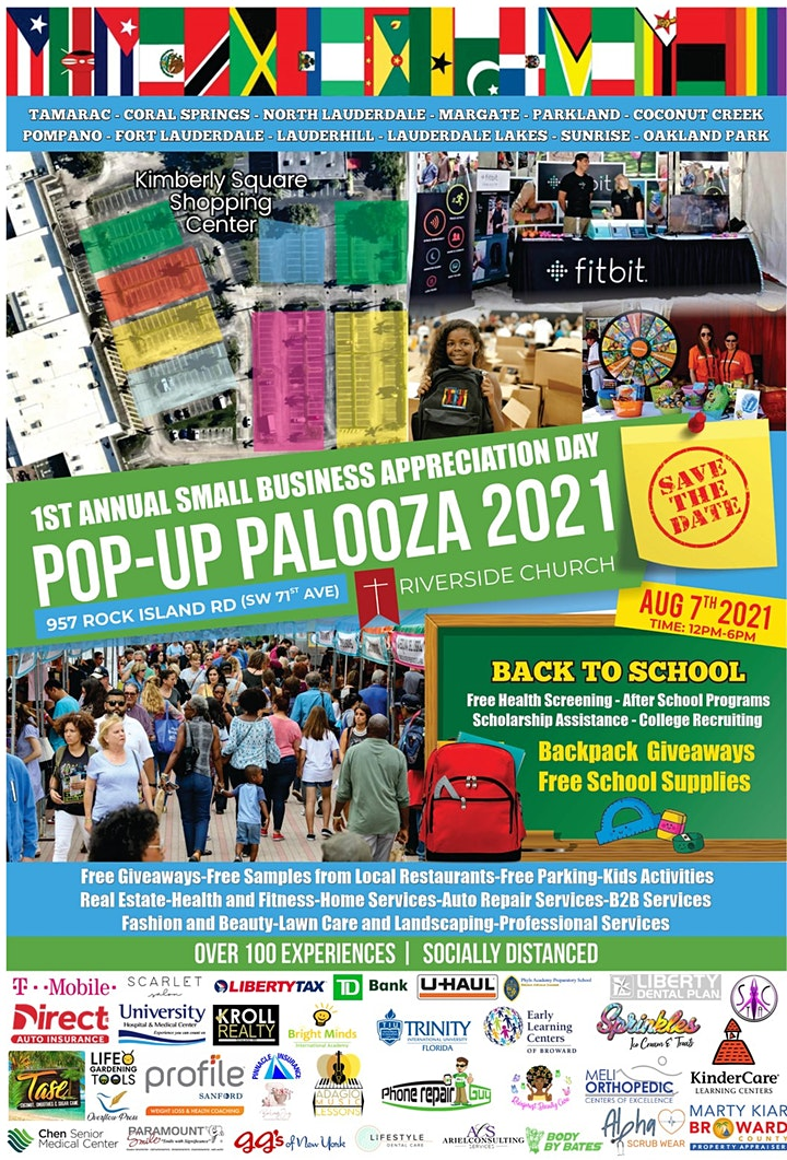 BACK TO SCHOOL POP-UP PALOOZA image