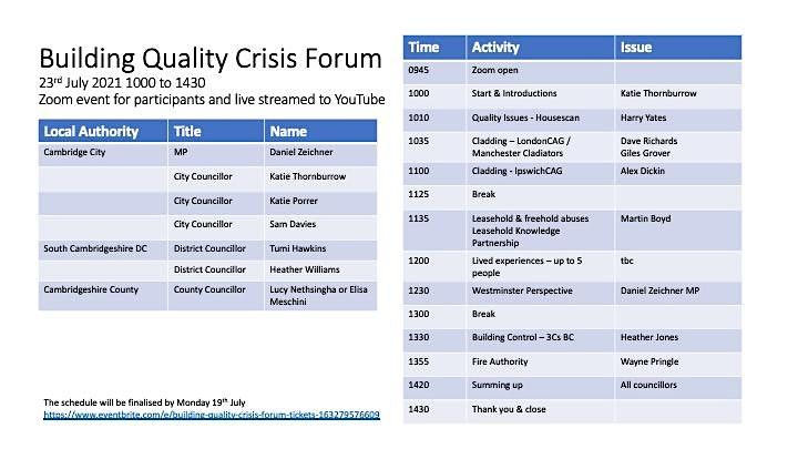 Building Quality Crisis Forum image