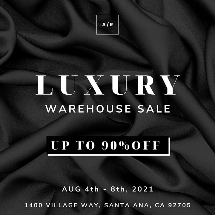 Luxury Warehouse Sale - Santa Ana, CA image