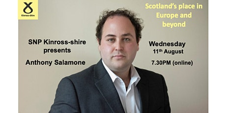 Anthony Salamone: Scotlands place in Europe and beyond tickets