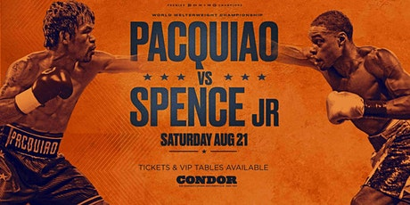 PACQUIAO vs SPENCE JR tickets