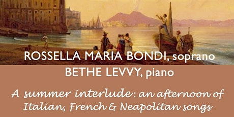 MoM Charity Concerts:  Rossella Maria Bondi & Bethe Levvy tickets