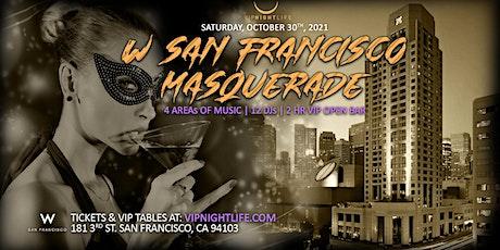 W San Francisco Halloween Masquerade Party tickets