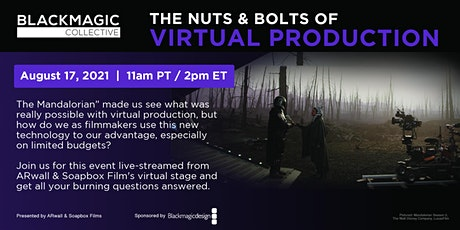 The Nuts & Bolts of Virtual Production tickets