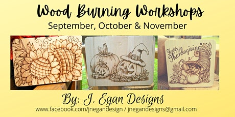 Wood Burning Workshop - November 2021 tickets