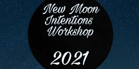 New Moon Intention workshop tickets