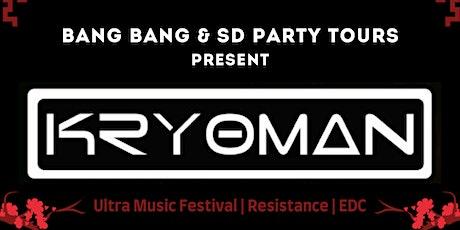 Kryoman at Bang Bang   THURS 08.05.21 tickets