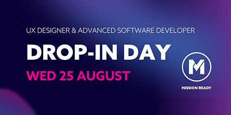Mission Ready Drop-in-Day: UX Design and Advanced Software Developers tickets