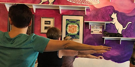 Yoga with Cats! Lead by Motor Om Yoga tickets