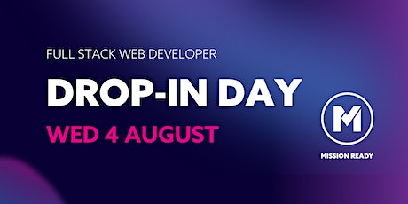 Mission Ready Drop-in-Day: Full Stack Web Developers tickets