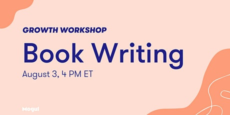 Book Writing - Growth Workshop tickets