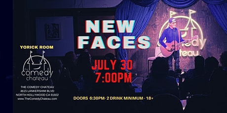 Comedy Chateau presents: New Faces  (7/30) tickets