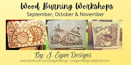 Wood Burning Workshops - November 2021 tickets