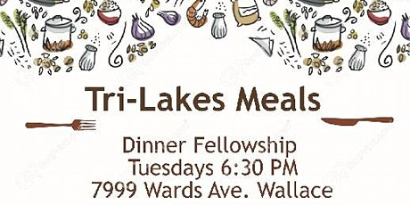 Dinner social for fellowship, encouragement, and support tickets