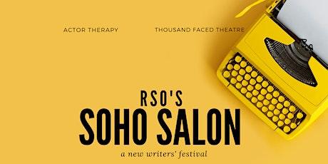 RSO's Soho Salon: A New Writers Fest tickets