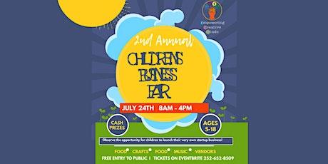 2nd Annual Children's Business Fair tickets