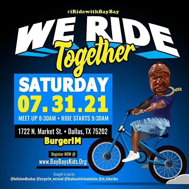 I RIDE with BAYBAY / Community Bike Ride image