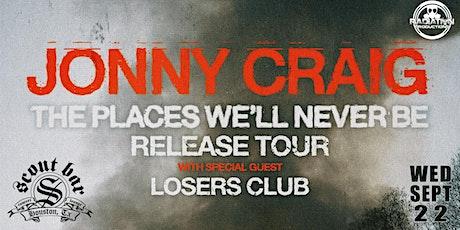 JONNY CRAIG tickets