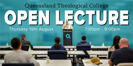 QTC Open Lecture tickets