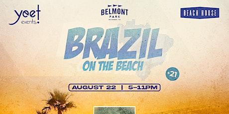 BRAZIL ON THE BEACH tickets