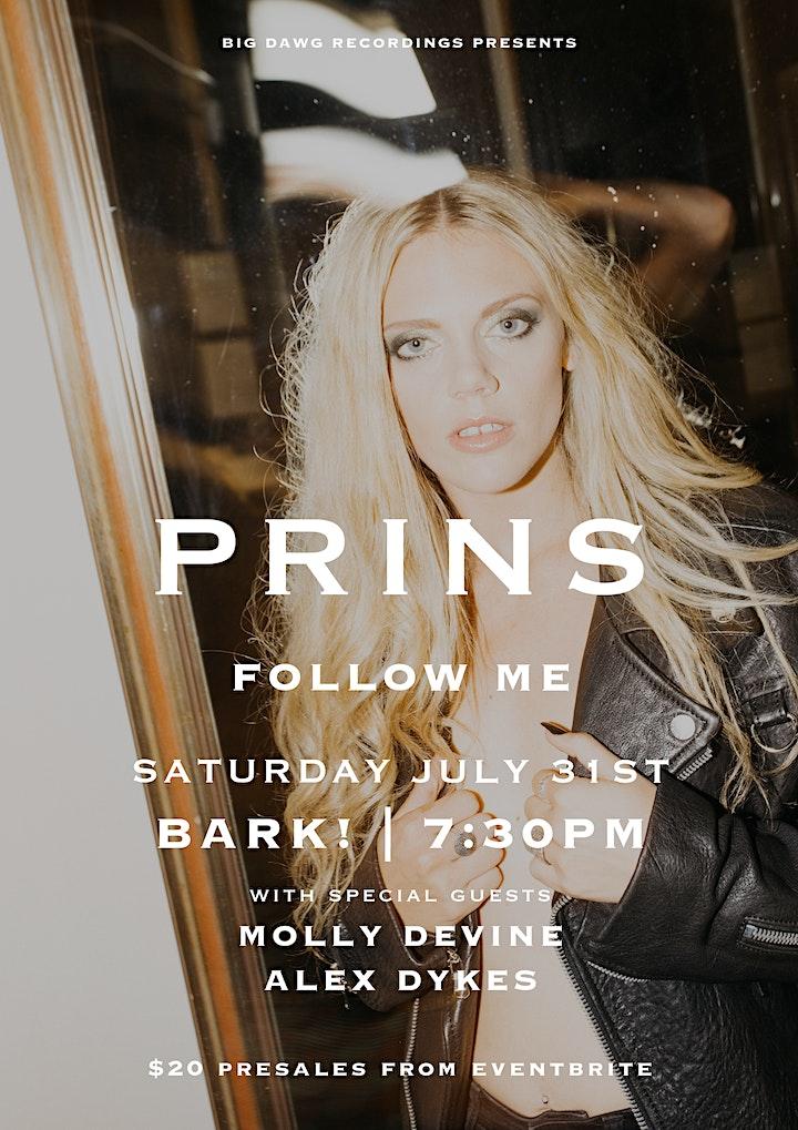 PRINS - Follow Me  - Dunedin image