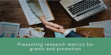 Presenting research metrics for grants and promotion tickets