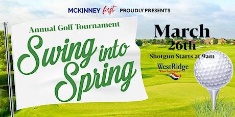2022 McKinney First Swing into Spring Golf Tournament tickets