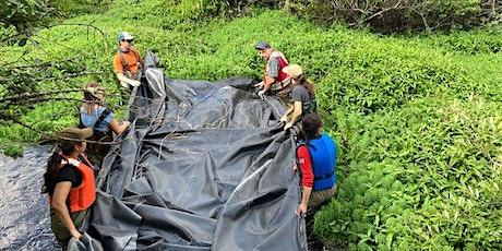 Pond Liner Installation  on Somenos Creek tickets